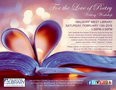 Join us @ Waldorf West and share your love of poetry