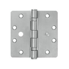 Securit Stainless Steel Butt Hinge Size 100mm Cupboard Box 1 x Pair