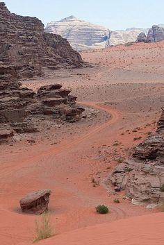 Wadi Rum Desert, Jordan. https://ExploreTraveler.com