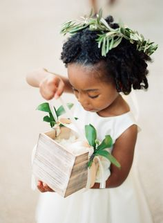 Adorable flower girl: http://www.stylemepretty.com/missouri-weddings/st-louis/2015/04/01/elegant-tuscany-inspired-wedding/ | Photography: Shelly Goodman - http://www.shellygoodmanphotography.com/