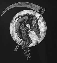 Don't Fear The Reaper, Grim Reaper, Anubis, Reaper Drawing, Arte Obscura, Angel Of Death, The Grim, Monster Art, Gothic Art