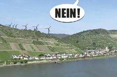 Rettet Rheinsteig und Welterbe - Nein zum Windpark bei Lorch/Rheingau