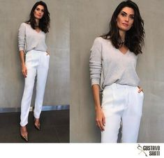 Como se vestir aos 30 anos Office Look Women, Look Office, Work Casual, Casual Chic, Casual Looks, Work Fashion, Fashion Outfits, Spring Work Outfits, Glam Dresses