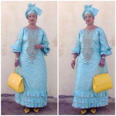 Embroidered Bazin Malian fashion African Dresses For Women, African Print Dresses, African Attire, African Wear, African Fashion Dresses, African Women, Senegalese Styles, Kaftan, Beautiful Long Dresses