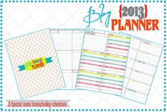 FREE Printable Blogging Planners