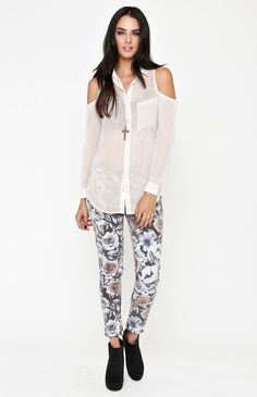 09e904b1b7aa9 Kirra Cold Shoulder Tunic from PACSUN w  10% off + free shipping + 5