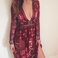 Sultry vibes in the Barcelona Maxi Dress Shop on our site. #ForLoveAndLemons