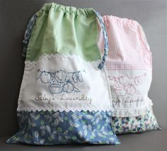 Baby's Laundry Bag