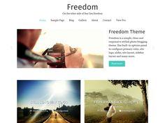 Freedom – Kostenlose WordPress-Themes
