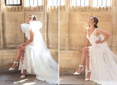 With two satin straps that you can tie around your ankle, our new 'Colette' style is super flattering. We have used the softest ivory suede to create these ballet inspired bridal shoes, and the slim 80mm straight heel is both stylish and practical, making the 'Colette' style a joy to wear on your big day. Read more on our blog. Click through to explore. Ribbon Shoes, Ivory Shoes, Small Intimate Wedding, Satin Sash, Bride Shoes, Tie The Knots, Comfortable Fashion, Party Fashion, Formal Dresses