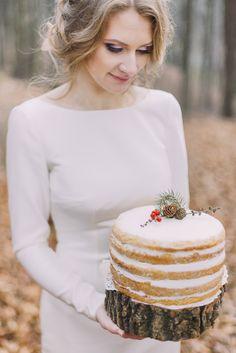 Heiraten im Winter: Hochzeitstorte