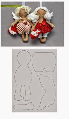 Amazing Home Sewing Crafts Ideas. Incredible Home Sewing Crafts Ideas. Doll Crafts, Diy Doll, Sewing Crafts, Sewing Projects, Fabric Toys, Fabric Crafts, Sewing Dolls, Soft Dolls, Cute Dolls