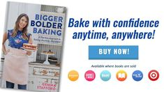 Buy the best new baking cookbook, the Bigger Bolder Baking cookbook by Gemma Stafford Homemade Ice, How To Make Homemade, Homemade Pasta, Homemade Chocolate, Baking Recipes, Cookie Recipes, Frosting Recipes, Dessert Recipes, Pretzel Recipes