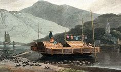 chinese duck boat C19th
