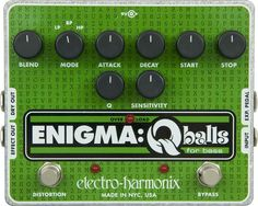 Electro-Harmonix Enigma Qballs Envelop Filter Bass Effects Pedal