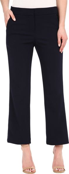 Trina Turk Women's Lutton Pants Indigo Pants 12 X 26. Made in USA.
