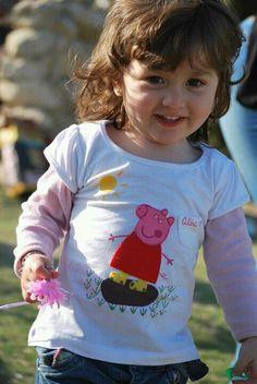 Peppa Pig T-shirt felt handmade