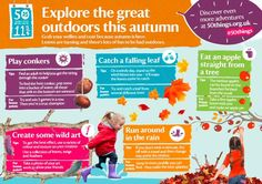 Autumn is a great time of year to take on our #50things activities. Here are some seasonal favourites…