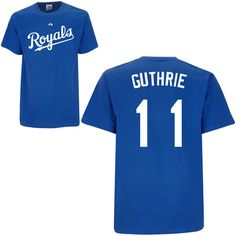 Kansas City Royals Authentic Font Youth Personalized T-shirt by Majestic Athletic - MLB.com Shop