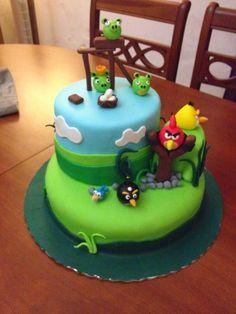 Aventur@ no mundo dos bolos decorados: Angry Birds