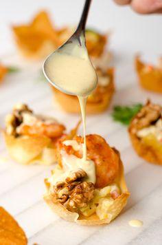 Walnut Shrimp Cup - Omnivore's Cookbook