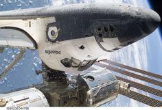 ISS shuttle dock