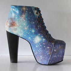 Blue Galaxy Booties Pre-Order