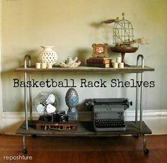 Reposhture Studio: What will it be......Basketball Rack!