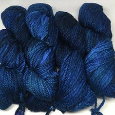 Chunky Azul Profundo, in den Tiefen des Blaus - Woolpack