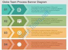 globe team process banner diagram flat powerpoint design Slide01