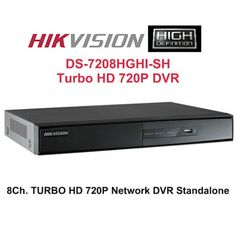 HIKVISION DS-7208HGHI-SH Turbo HD DVR Standalone (8Ch. HD DVR)