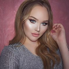 "Get Inspired: Nikkie in magic glam #makeup. She used her own Too Faced ""Power of Makeup Collection"""