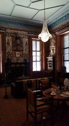 The smoke room - Martindale Hall - Mintaro