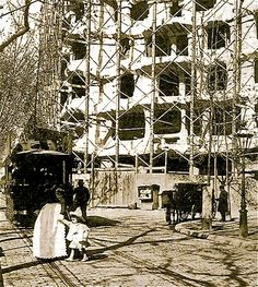 Casa Mila / Album / Pendant la construcion de la Casa Mila