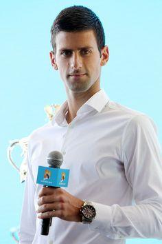 Novak Djokovic - 2014 Australian Open Official Draw