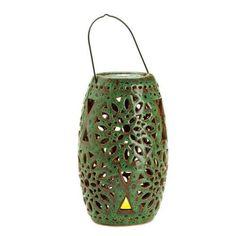 Cutout Candle Lantern With Led Candle