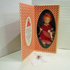 "Annie Genuine Porcelain Doll, Vintage 1982 ""ANNIE"" Doll In Red Velvet Dress By Applause, ""ANNIE"" Porcelain Doll In Original Box by Applause by BeautyMeetsTheEye on Etsy"