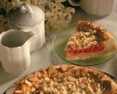 Gâteau magique allégé aux framboises et amandes effilées : http://www.fourchette-et-bikini.fr/recettes/recettes-minceur/gateau-magique-allege-aux-framboises-et-amandes-effilees.html