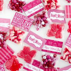 Valentine's Day Treat Toppers – Free!