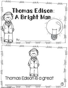 Thomas Edison History coloring pages for kids 067 SCHOOL