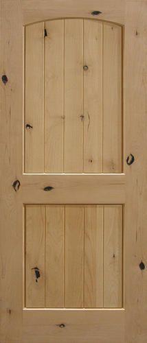 Mastercraft knotty pine flat 3 panel mission 30 x 80 x 1 3 8 model number 4134125 menards for Mastercraft prehung interior doors