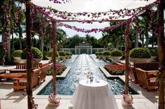 Waterfall Ceremony | Hyatt Regency Coconut Point Resort & Spa | Luminaire Foto