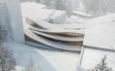 hk+b Rendering Visualization for Project: Museums Extension Architect: hk+b Architecture Location: Jyväskylä - FINLAND