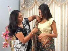 Rajrani Style of Saree Draping Saree Wearing Styles, Saree Styles, Indian Dresses, Indian Outfits, Desi Wear, Saree Look, Renaissance Clothing, Indian Ethnic Wear, Saree Blouse Designs