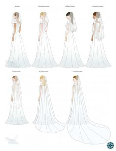 Which veil look do you prefer for your Big Day?