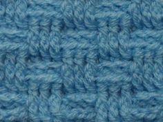 Leer hoe je 3 verschillende Mandensteek patronen kunt haken.
