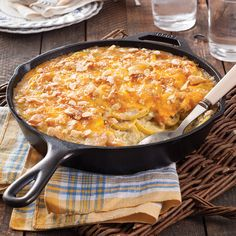 Layered with melty cheese and buttery crackers, this classic casserole is the best way to enjoy tender summer squash. Southern Squash Casserole, Summer Squash Casserole, Yellow Squash Recipes, Yellow Squash And Zucchini, Casserole Dishes, Casserole Recipes, Bean Casserole, Skillet Recipes, Cast Iron Recipes
