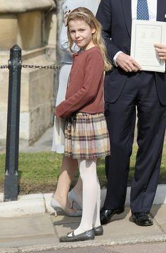 Miss Honoria Glossop:  Honorable Margarita Armstrong-Jones, daughter of Viscount and Viscountess Linley
