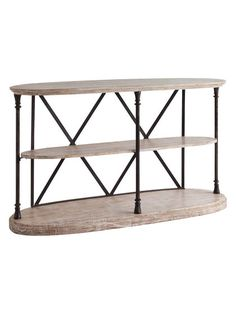 Frigate Console Table by Mercana at Gilt