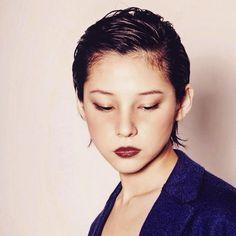 いいね!108件、コメント3件 ― Hironori Okadaさん(@hironori_okada)のInstagramアカウント: 「 #mywork . #ショート #モード #オールバック #73 #ジェル #メンズライク #ボーイッシュ #作品撮り #ショートボブ #ショートヘア #ヘアスタイル #ヘアカタログ #ヘアカタ…」